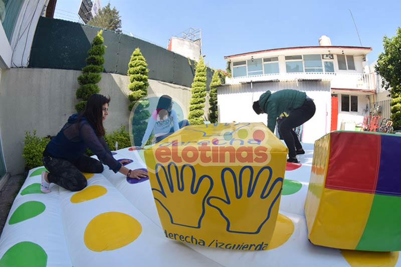 Renta Twister Inflable / Renta Twister Inflable CDMX / Renta Inflable Mexico